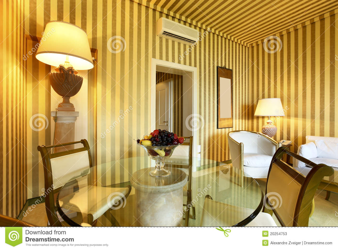 Comfortable dining room stock photos image 20254753 for Comfortable dining room