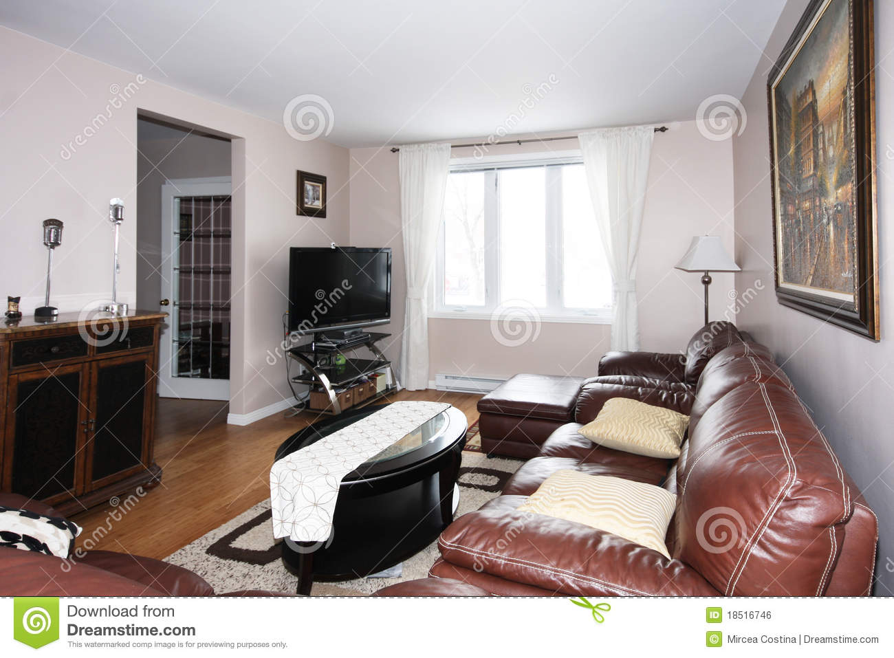 Comfortable Living Room. Royalty Free Stock Image - Image ... on Comfortable Living  id=80778