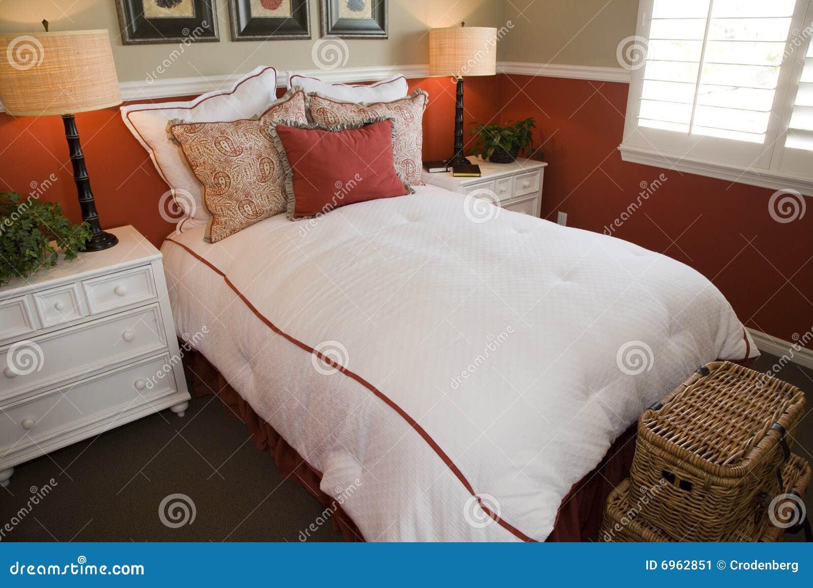 Comfortable Modern Bedroom Stock Image Image 6962851