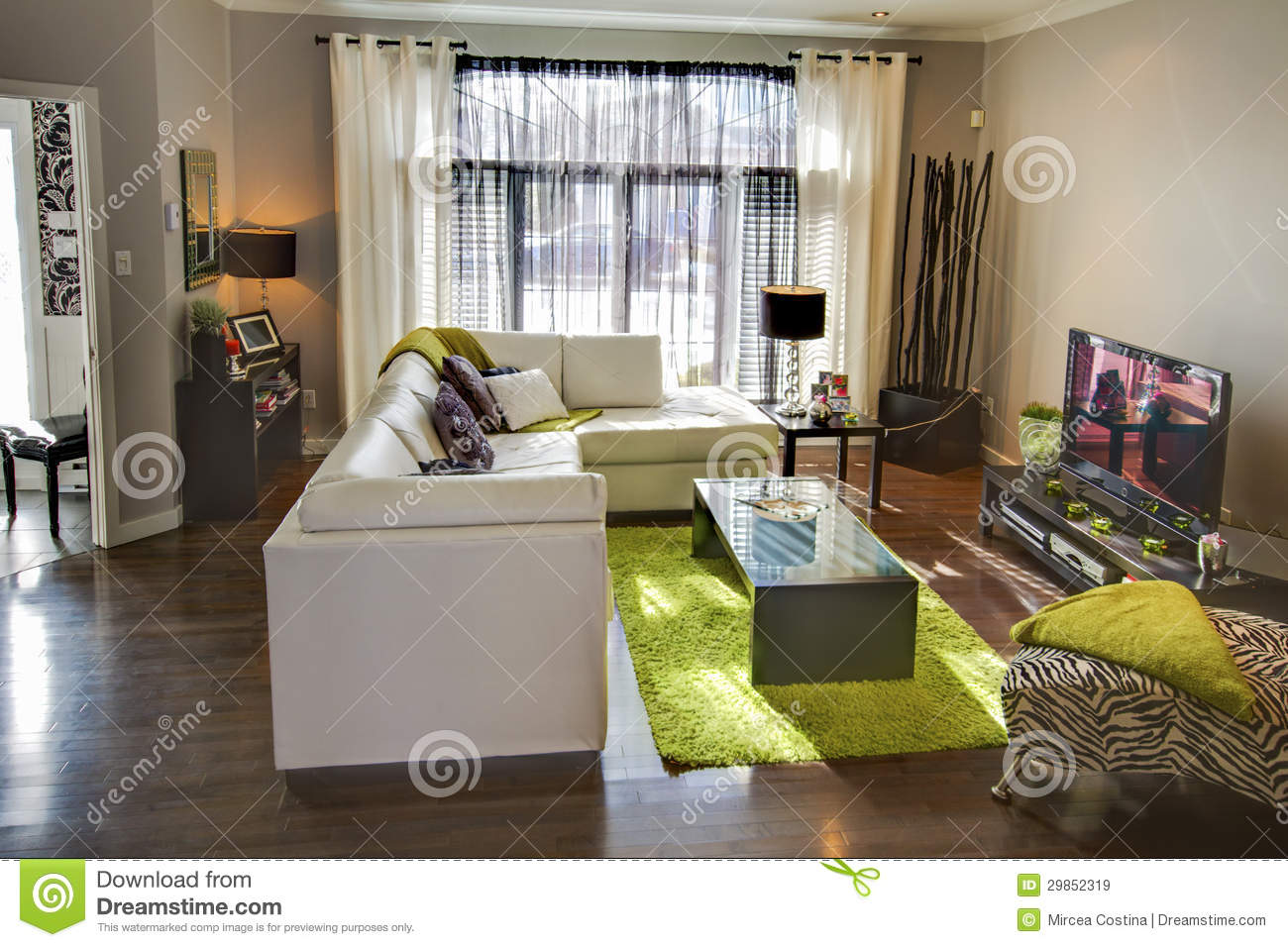 Living Room Royalty Free Stock Images Image 29852319