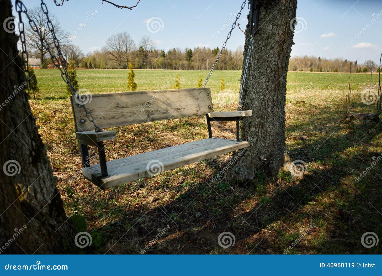 Wooden Garden Swing Plans
