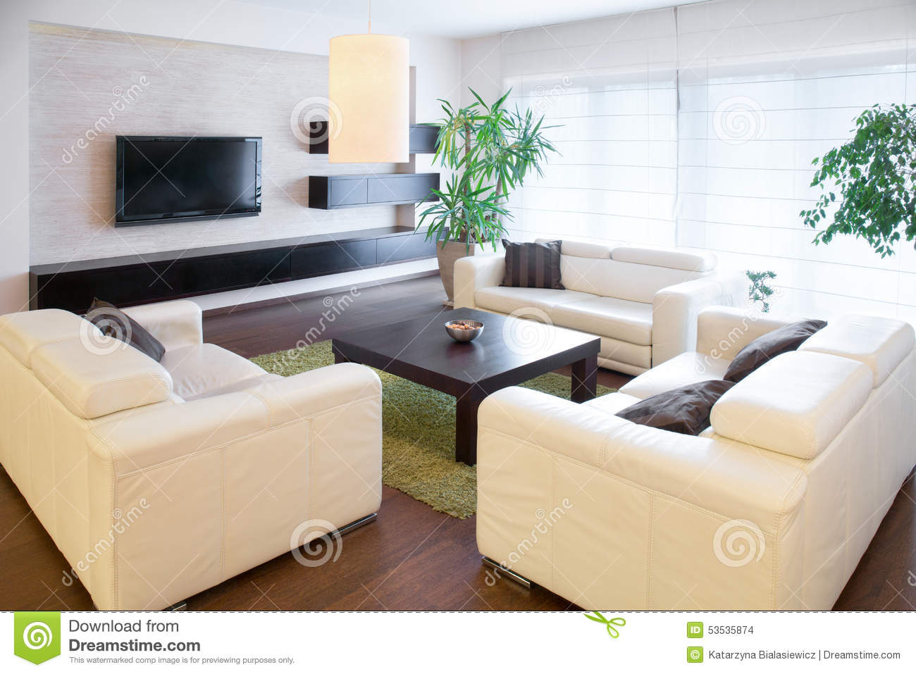 comfortable white sofas stock photo image 53535874. Black Bedroom Furniture Sets. Home Design Ideas