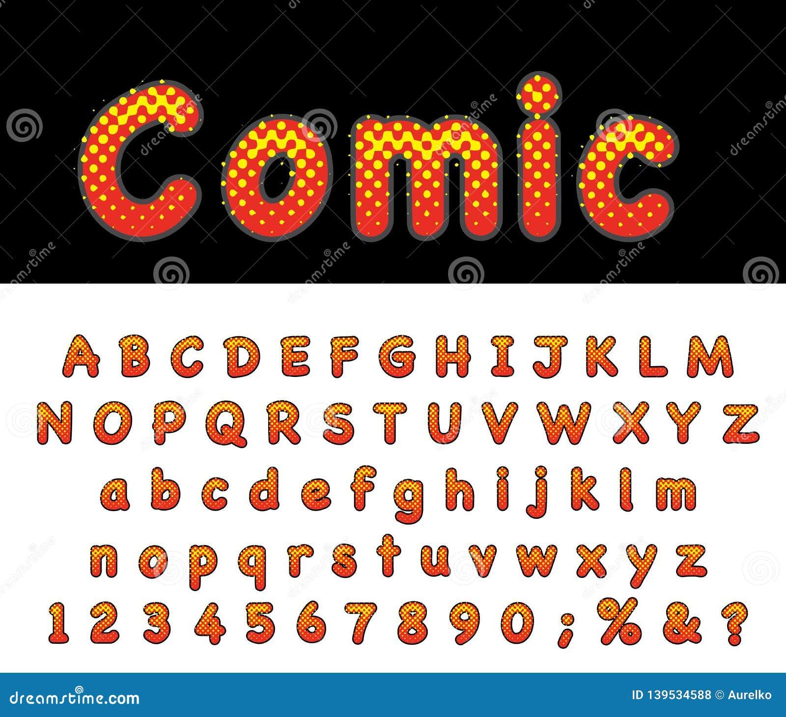 Comic abc