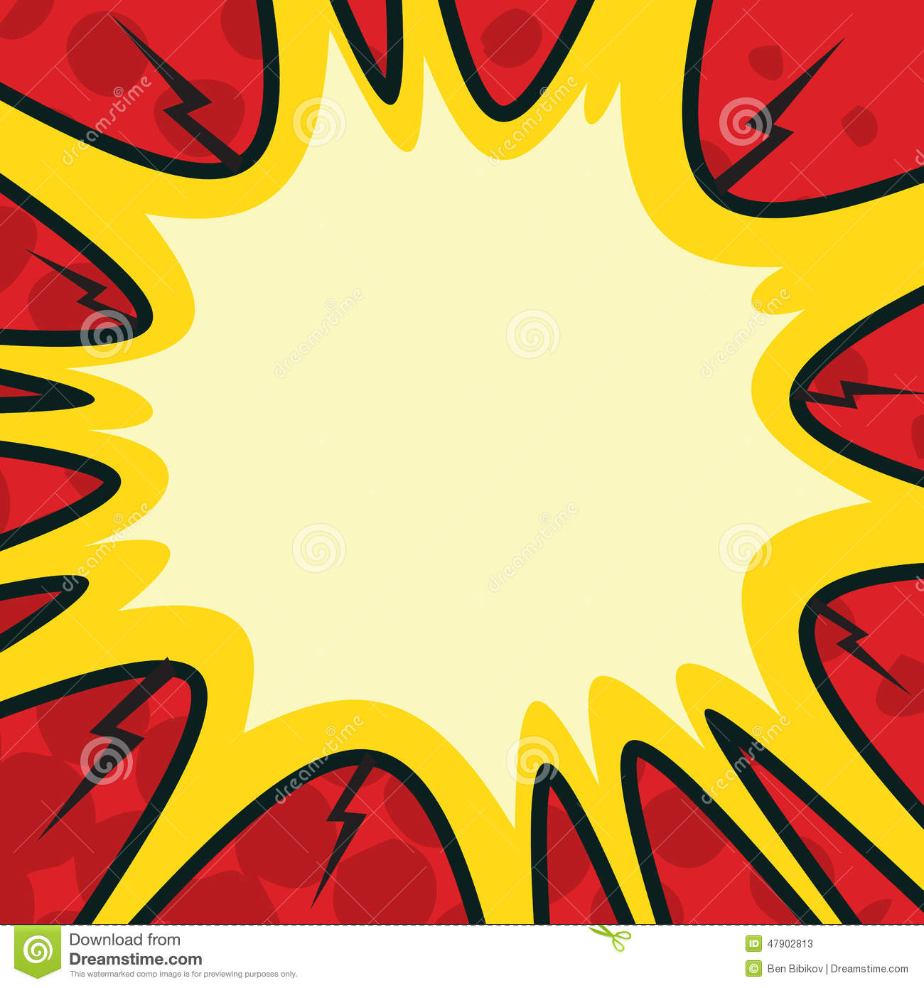 comic bang stock vector image 47902813 explosion clipart galaga explosion clipart black and white