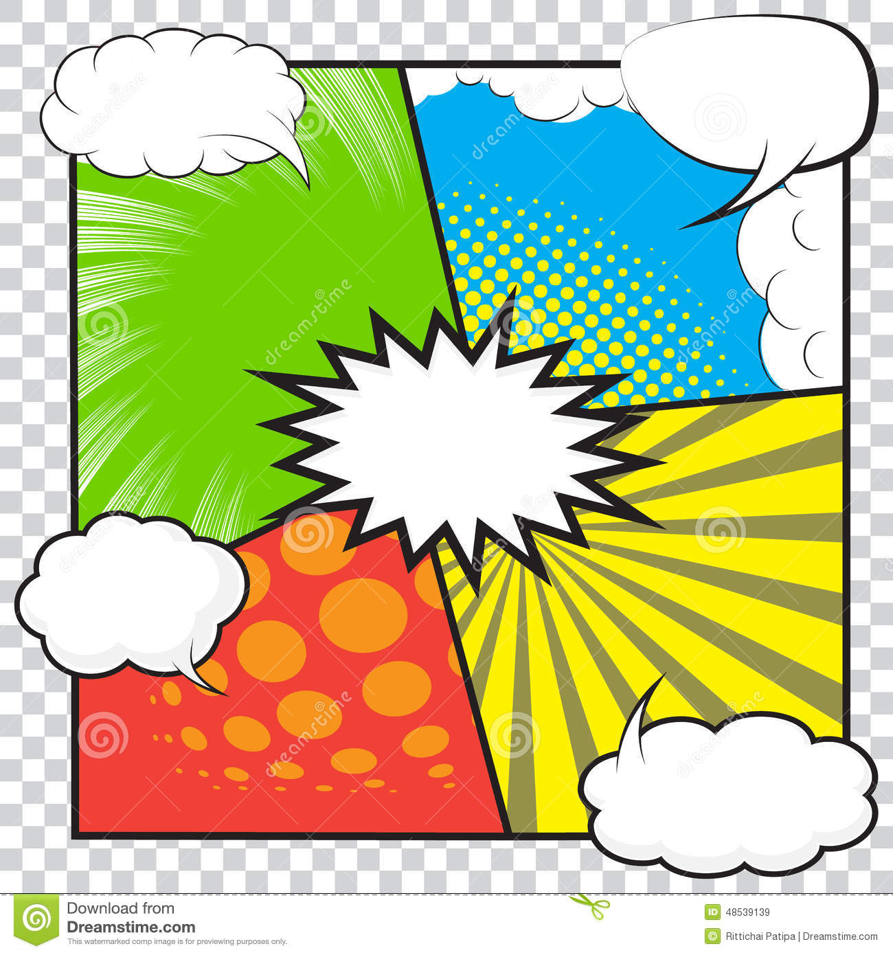 comic book stock vector  image of graphic  emotions  idea