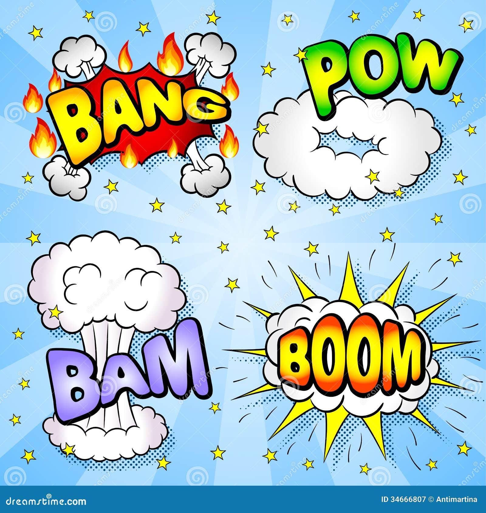 Comic Book Element Stock Photos - Image: 35399873