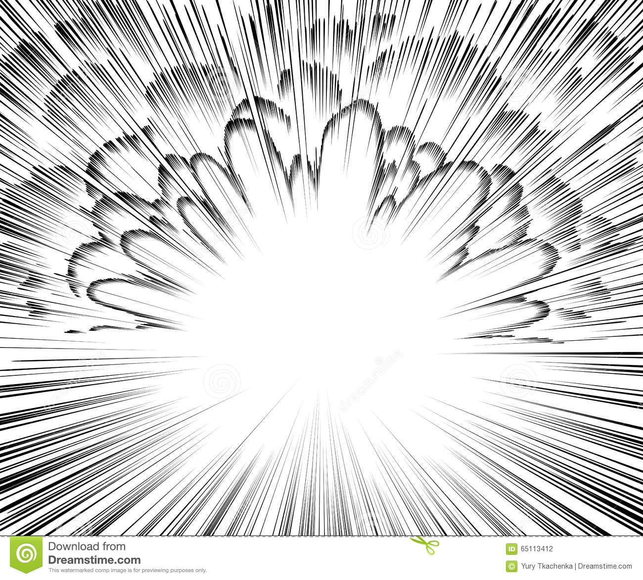 comic book explosion vector illustration black and white