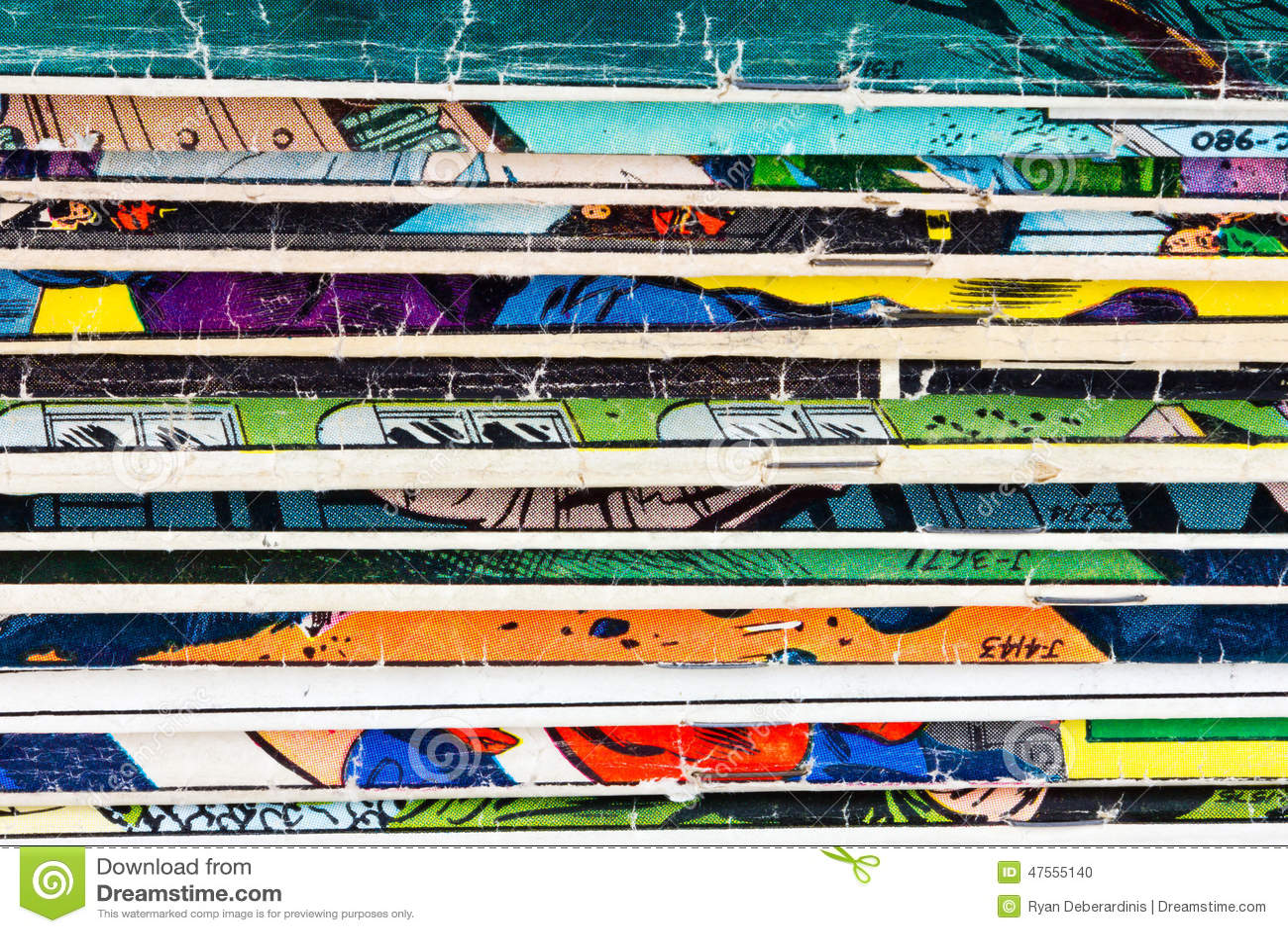 comic book paper texture
