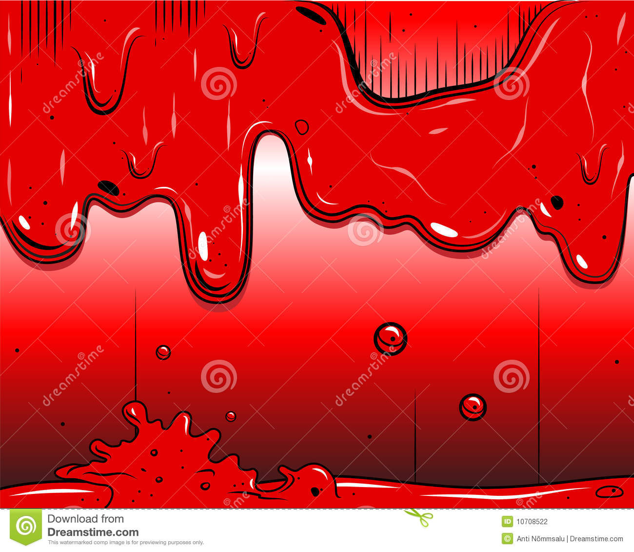 comic book - slime stock vector  image of paint  mess