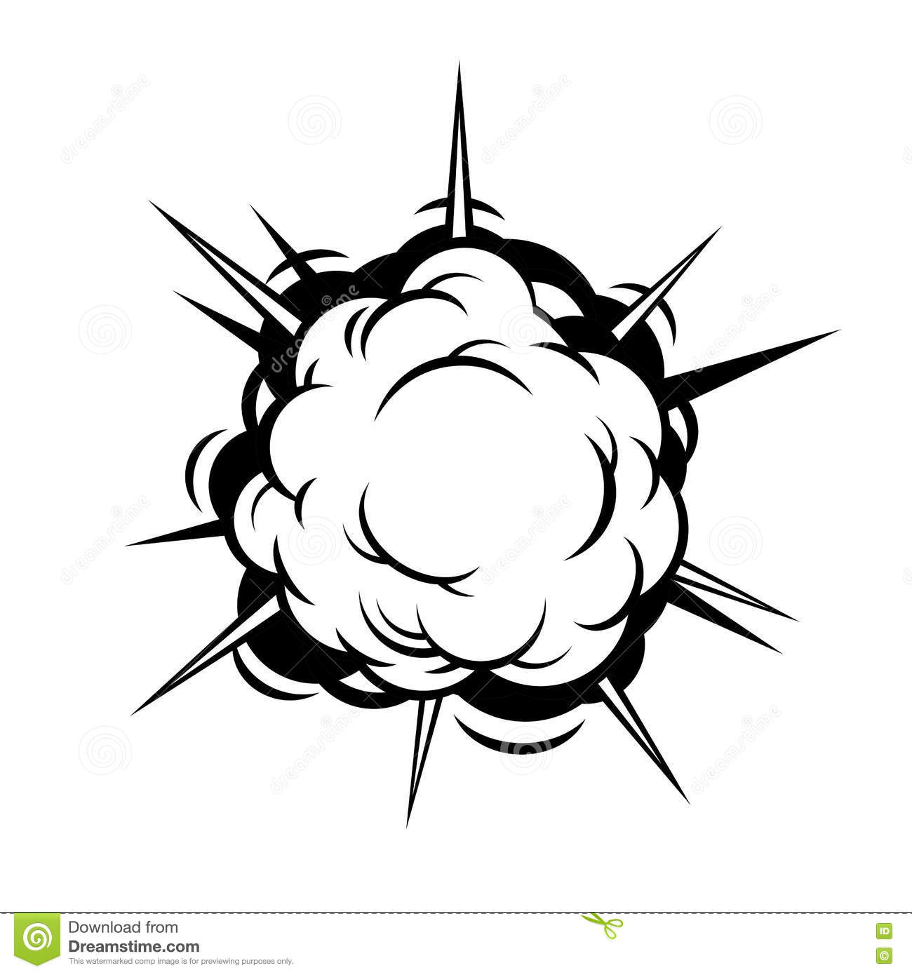 Comic Boom. Explosion. Vector Stock Vector - Image: 57268094