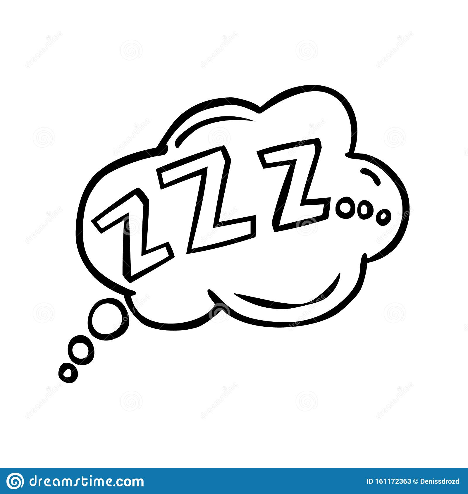 Comic Bubble Zzz Sleeping Vector Icon Stock Illustration Illustration Of Mode Label 161172363 Are you searching for comic zzz png images or vector? https www dreamstime com comic bubble zzz sleeping vector icon web sites mobile image161172363