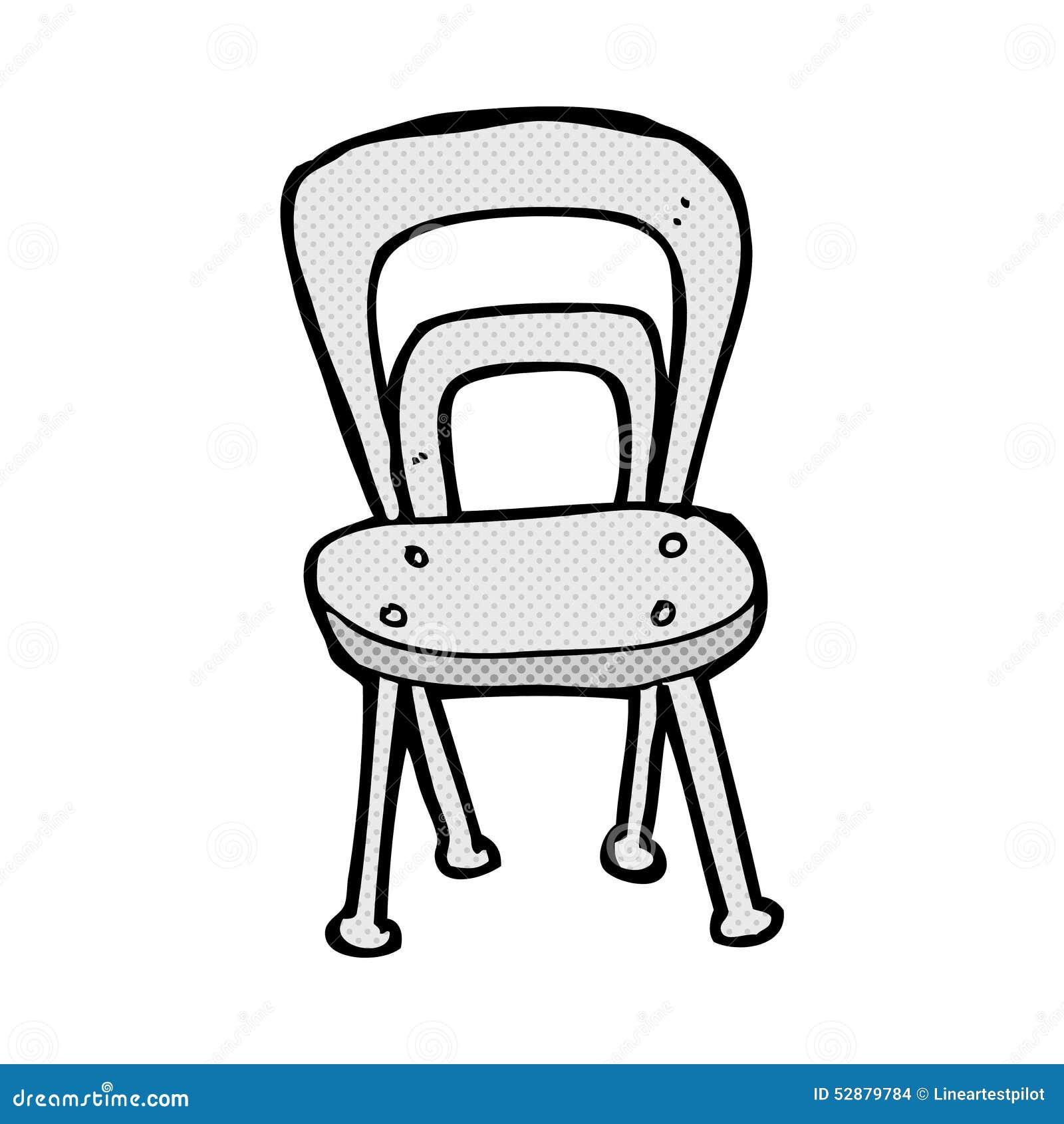 Fine Comic Cartoon Chair Stock Illustration Illustration Of Hand Download Free Architecture Designs Scobabritishbridgeorg