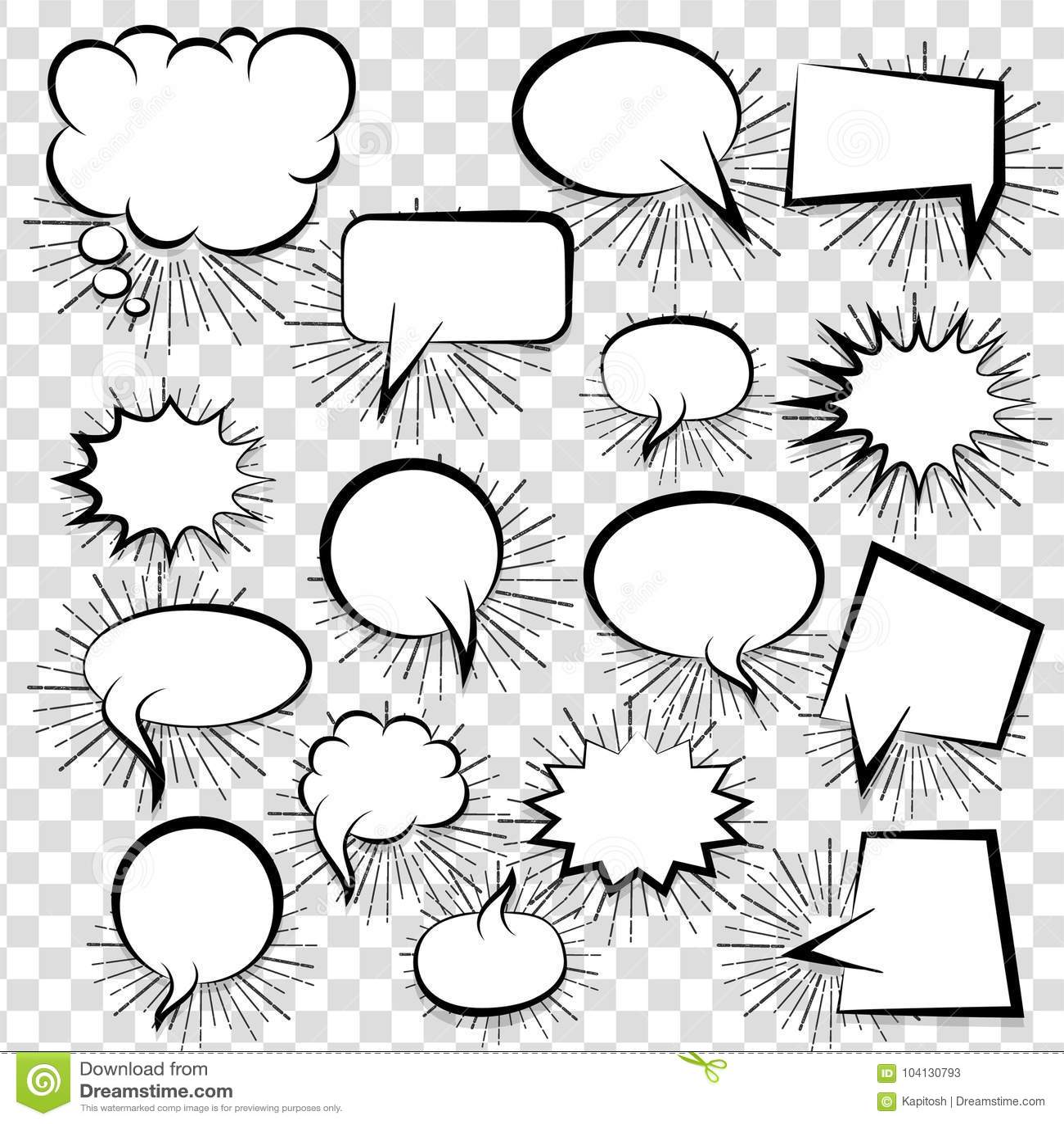 Famous Speech Bubble Template Printable Illustration - Documentation ...