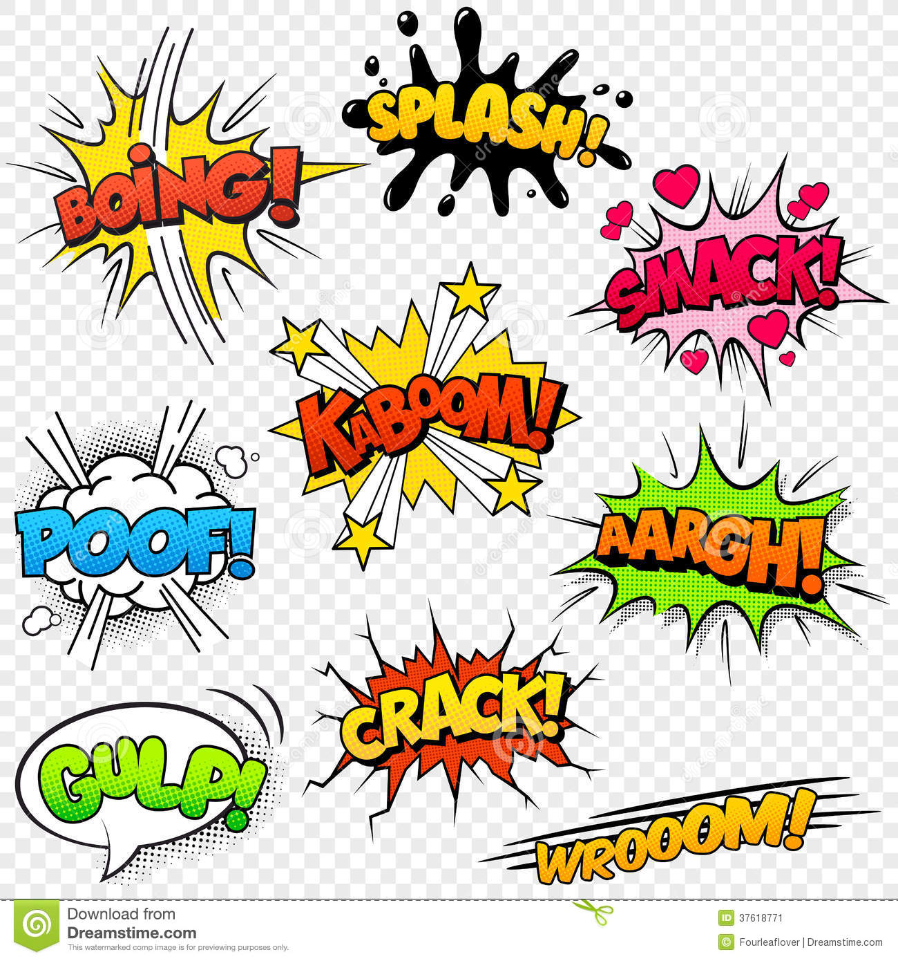 Onomatopoeia in Comic Books WSA Research and Communication Skills