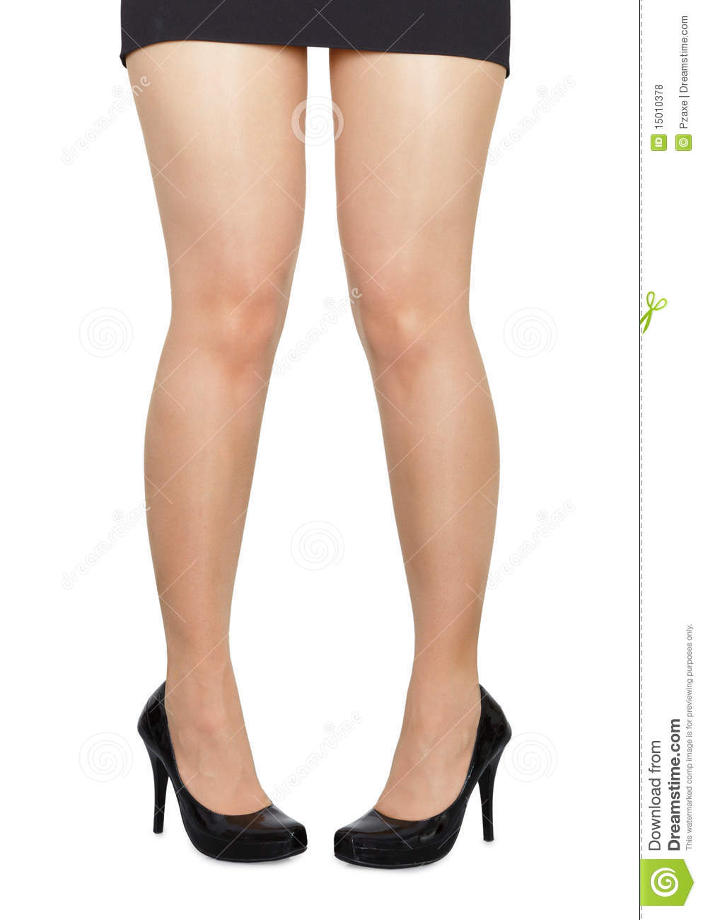 More similar stock images of ` Comical standing woman s legs on white ...