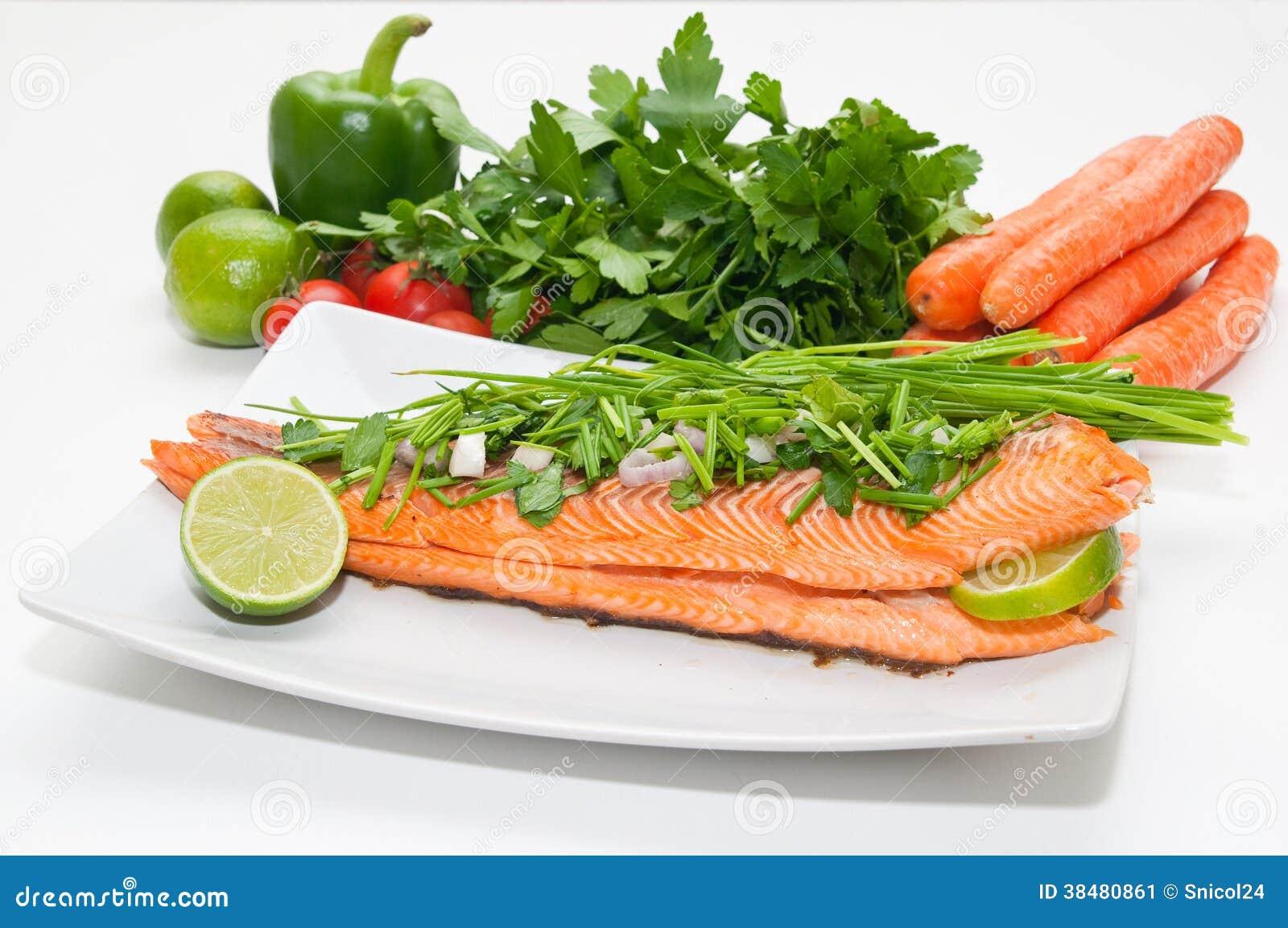 La dieta del salmon
