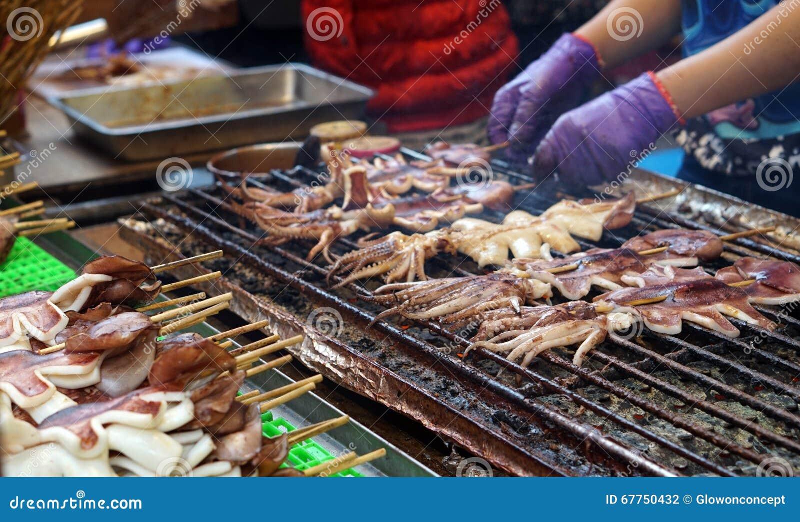 cosas para comer en el mercado nocturno de raohe