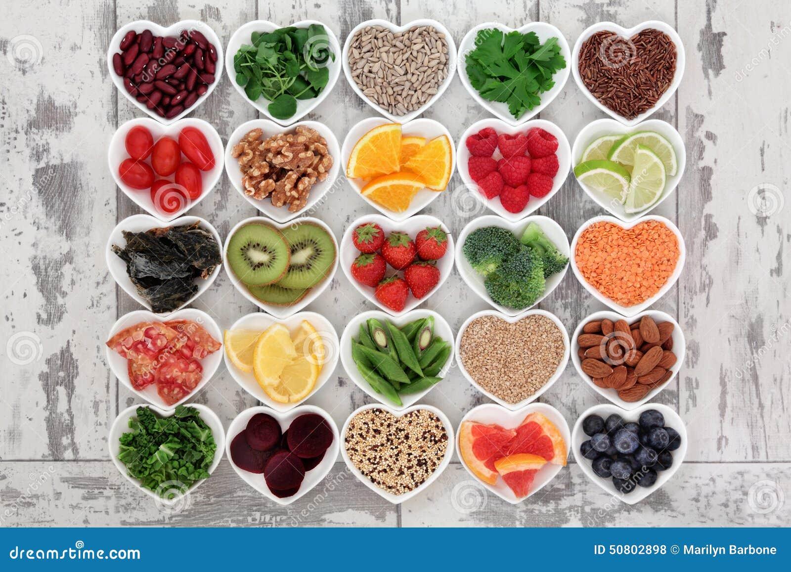 Comida de la dieta del Detox