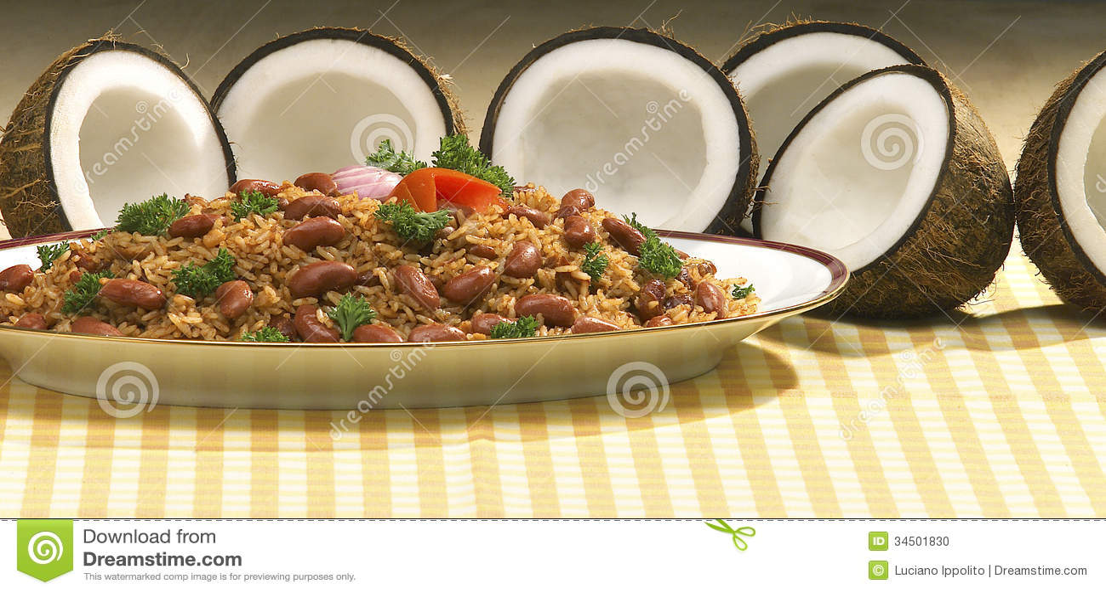 comida dominicana tradicional foto de archivo imagen de cuchara