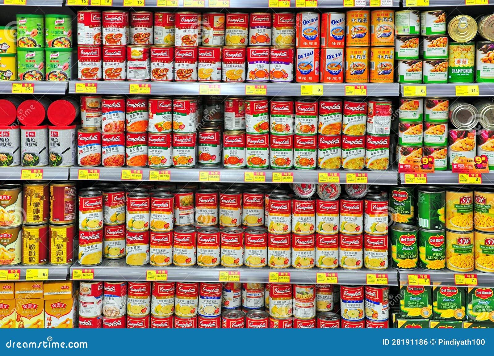 comida enlatada: