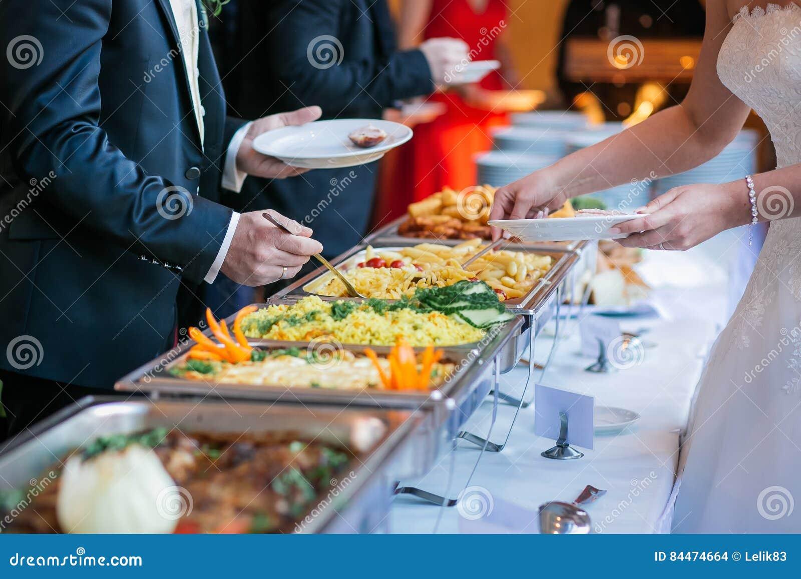 Comida fría de la boda de la comida del abastecimiento