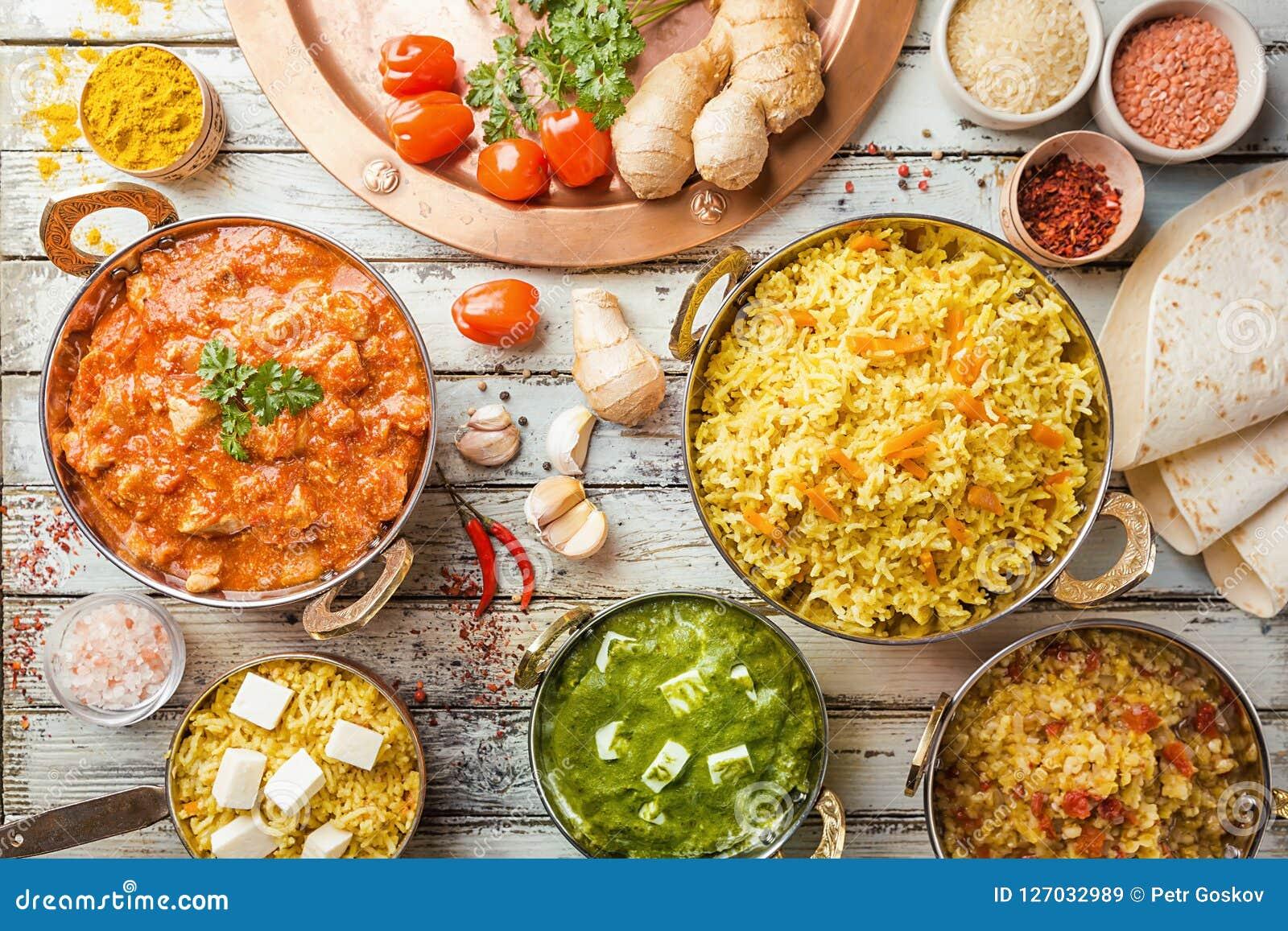 Comida india clasificada