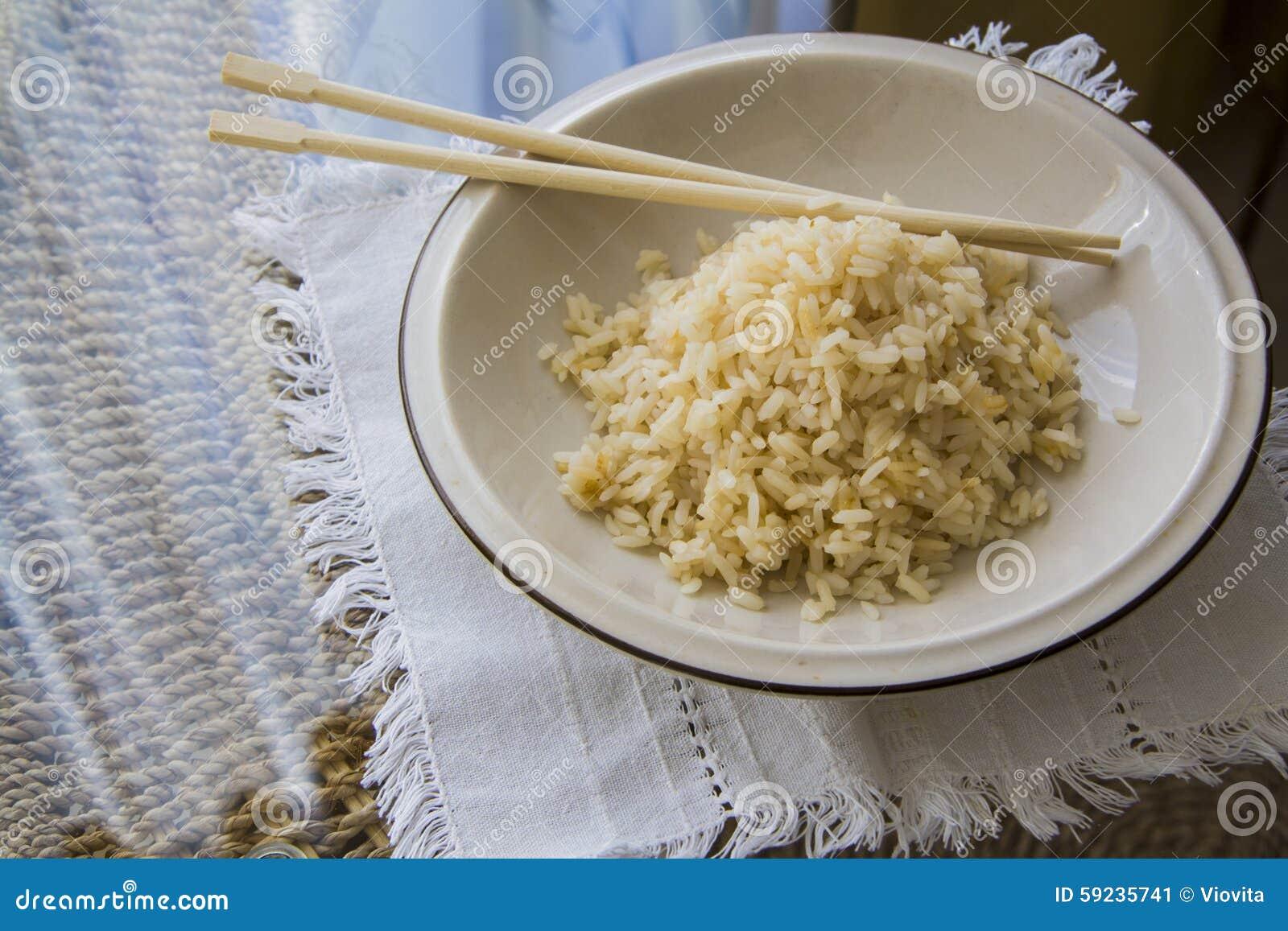Comida japonesa: cocinar el arroz sano