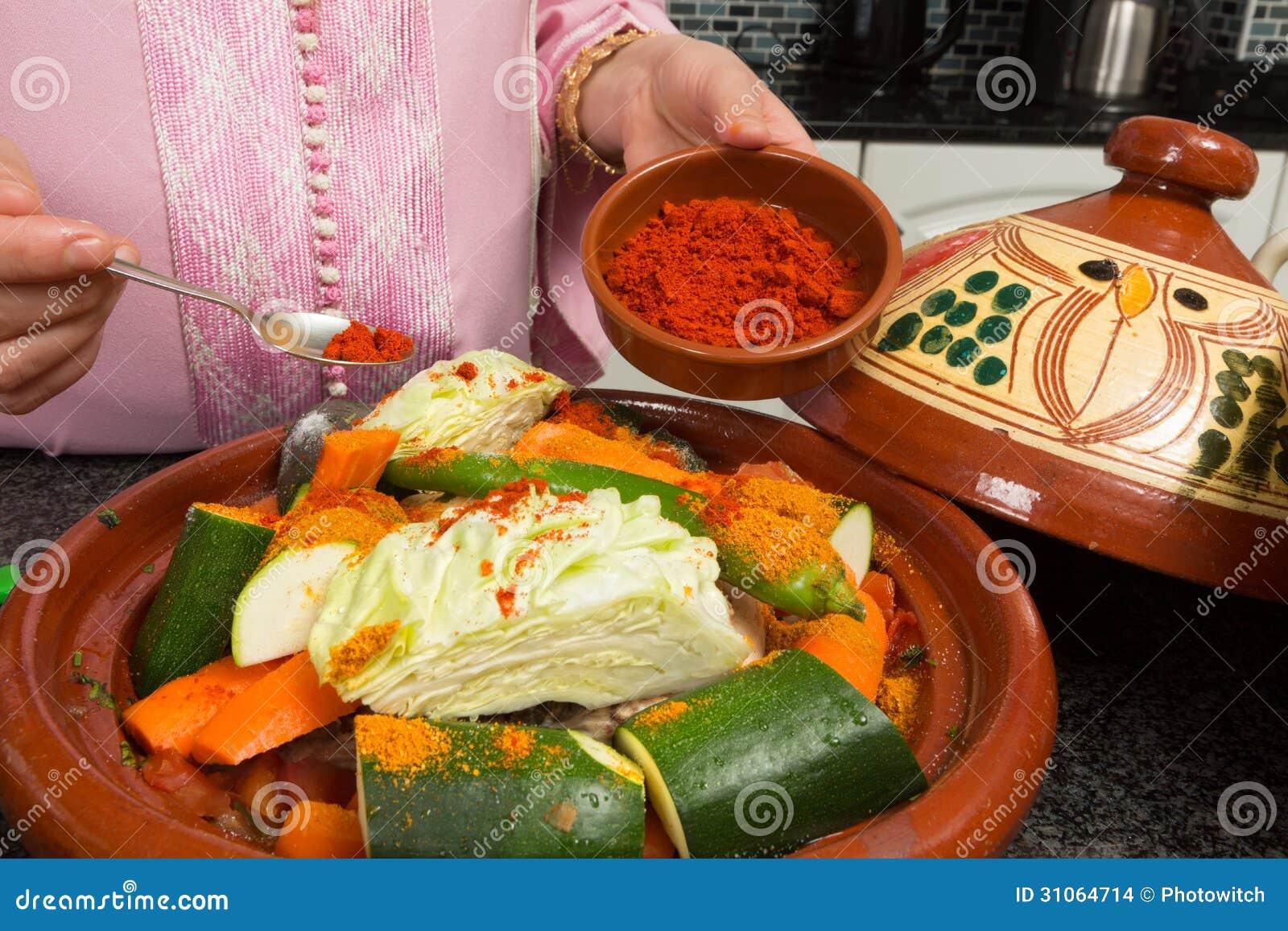 Comida marroquí picante