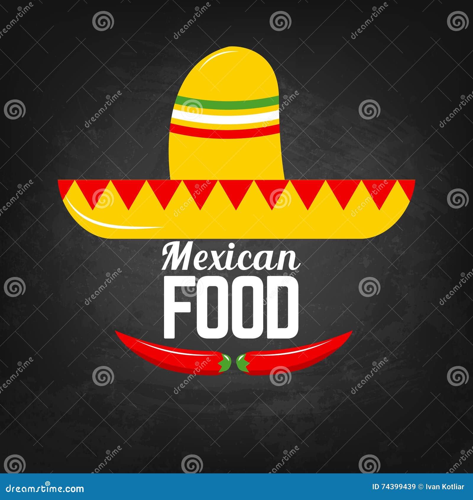 7f2da8393660f Comida Mexicana Pimientas Del Sombrero Y De Chile Comida Mexicana ...
