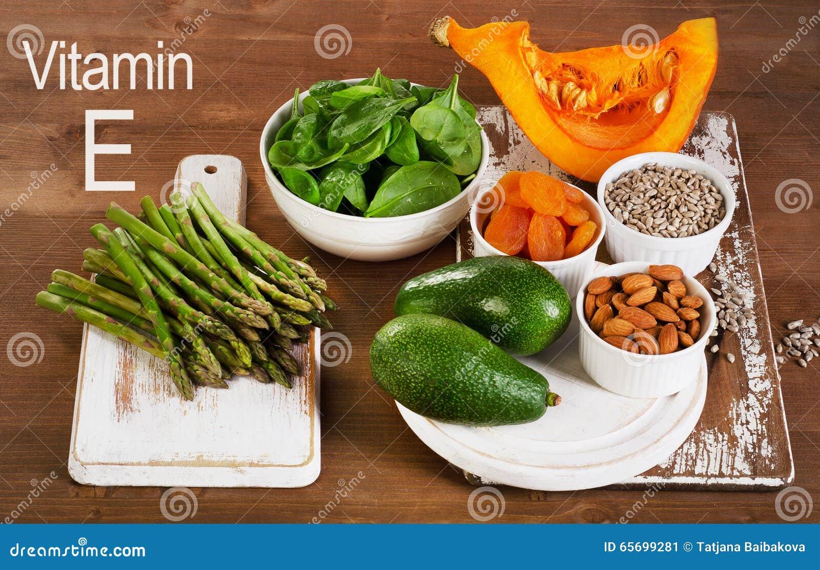 que comidas contienen vitamina e