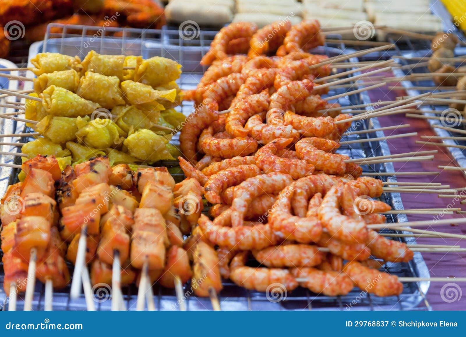 Comida tailandesa tradicional