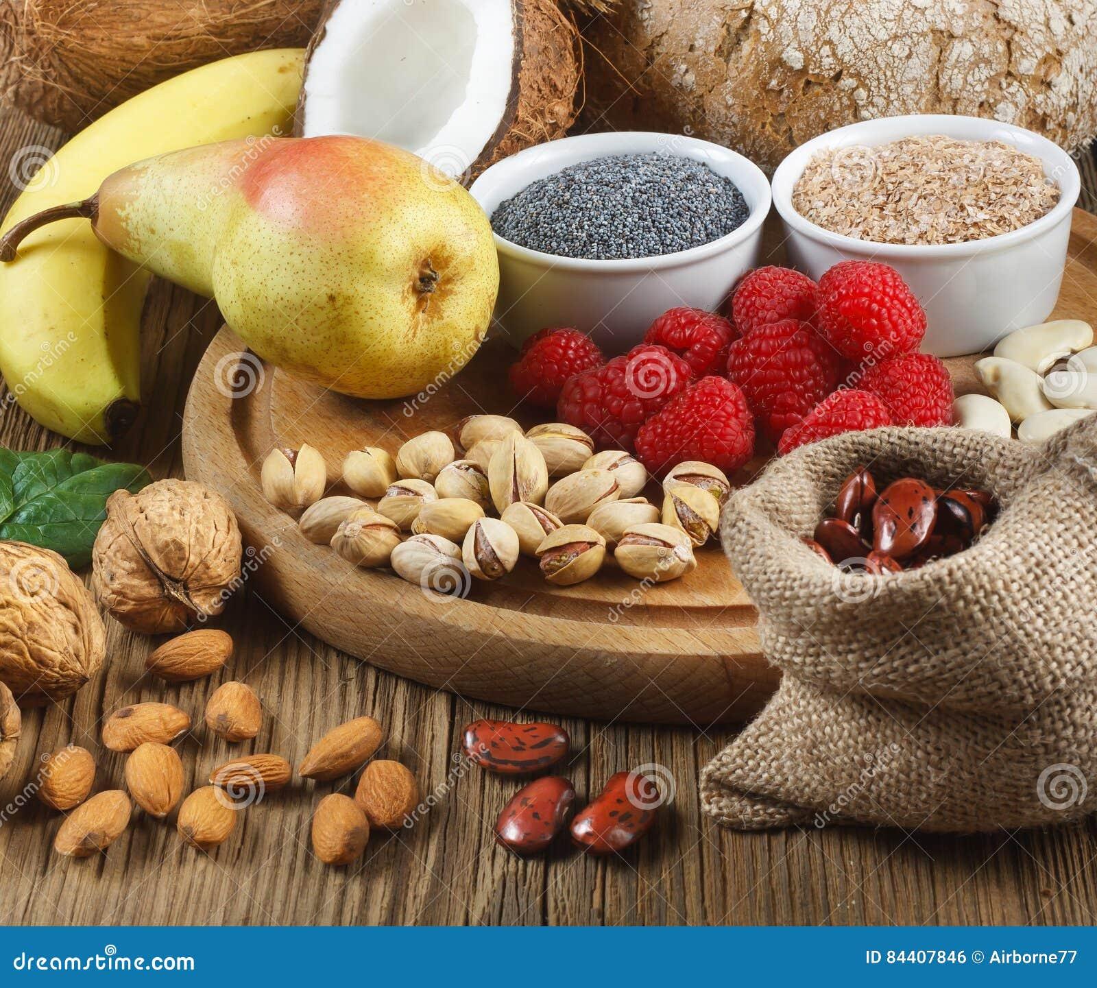 Comidas ricas en fibra