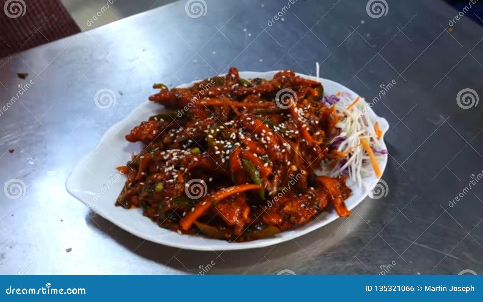 Comidas sabrosas de Kerala
