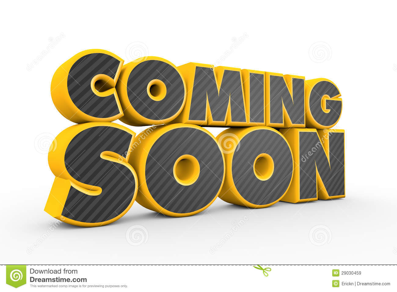 Coming Soon Royalty Free Stock Images - Image: 29030459
