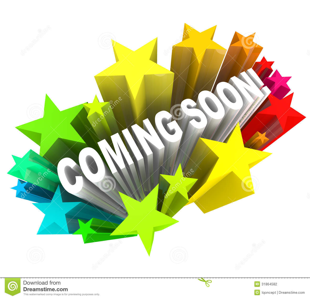 Coming Soon Announcement Of New Product Or Store Opening Stock Illustration Illustration Of Attraction Announce 31864582