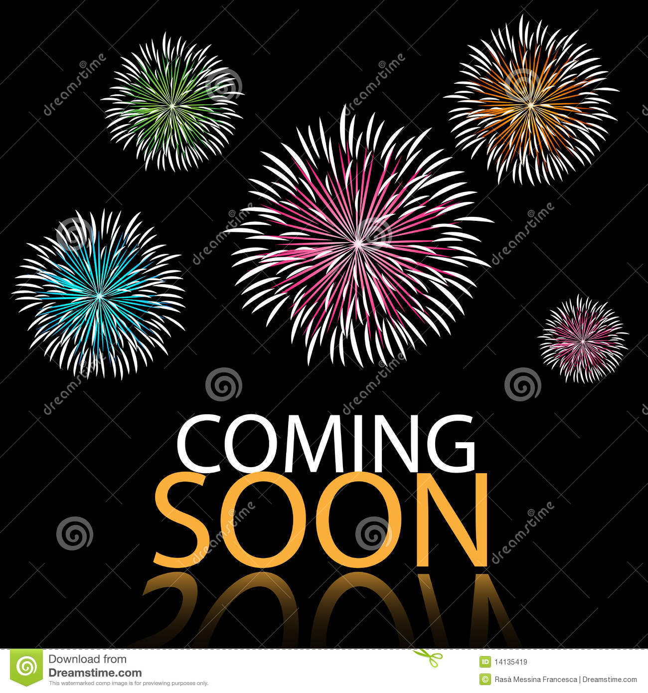 Coming Soon Background Royalty Free Stock Images Image