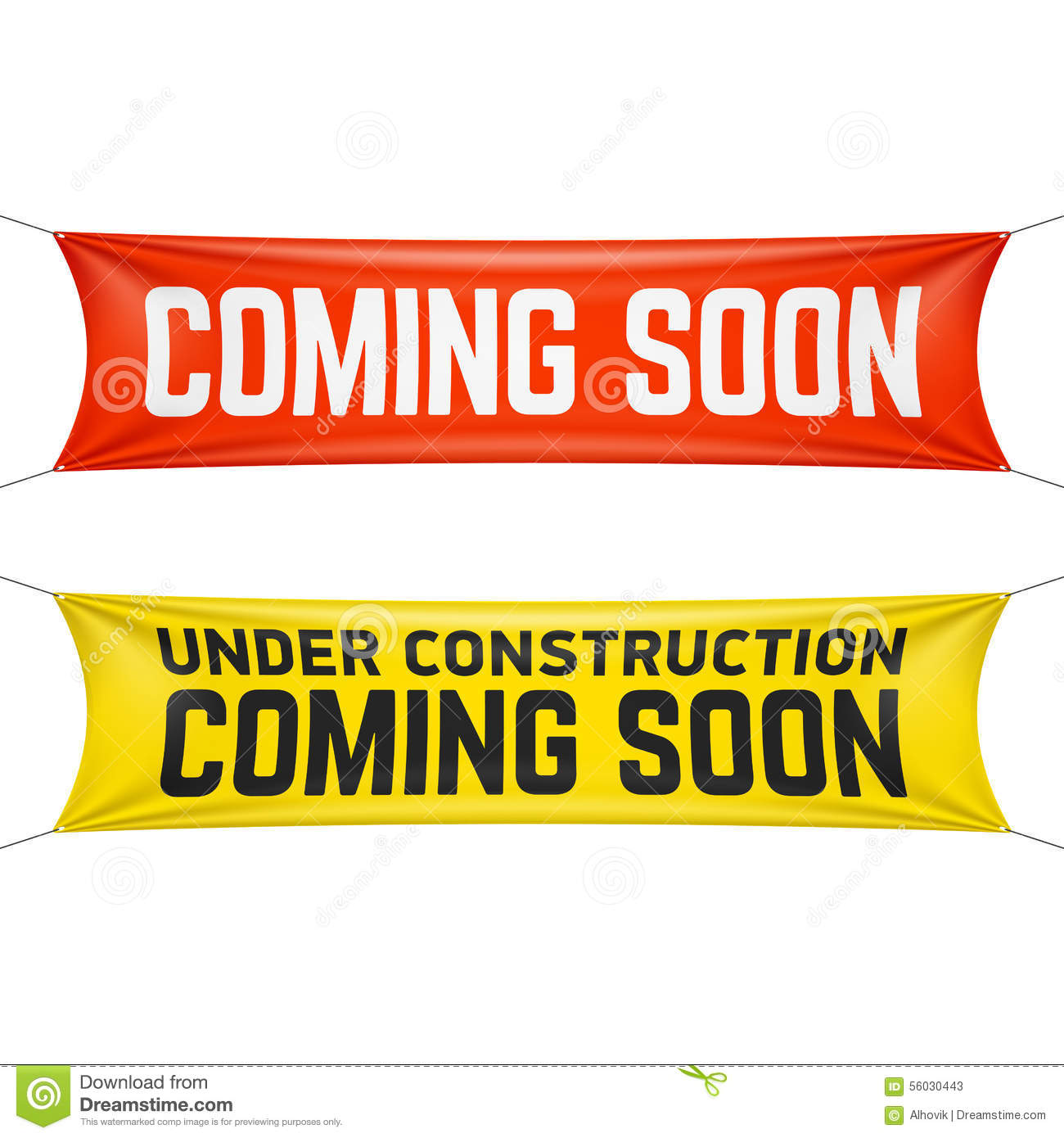 Coming Soon Banner Stock Vector Image 56030443
