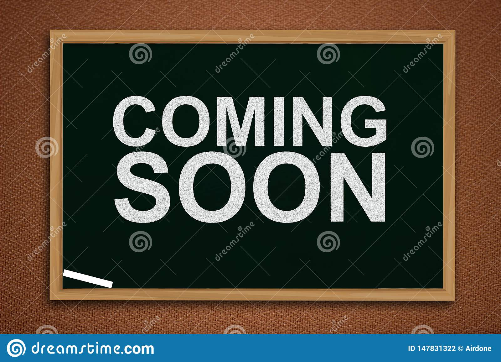Coming Soon Words Typography Concept Stock Photo Image Of Word Text 147831322