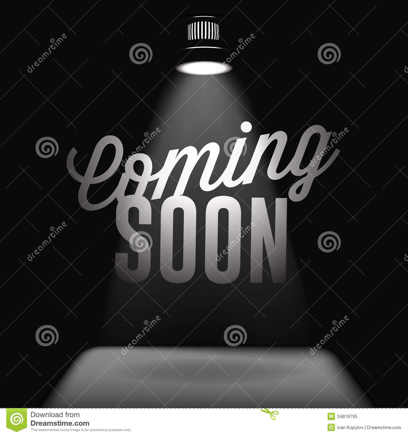 Coming soon, sale poster stock vector. Image of fantastic ...