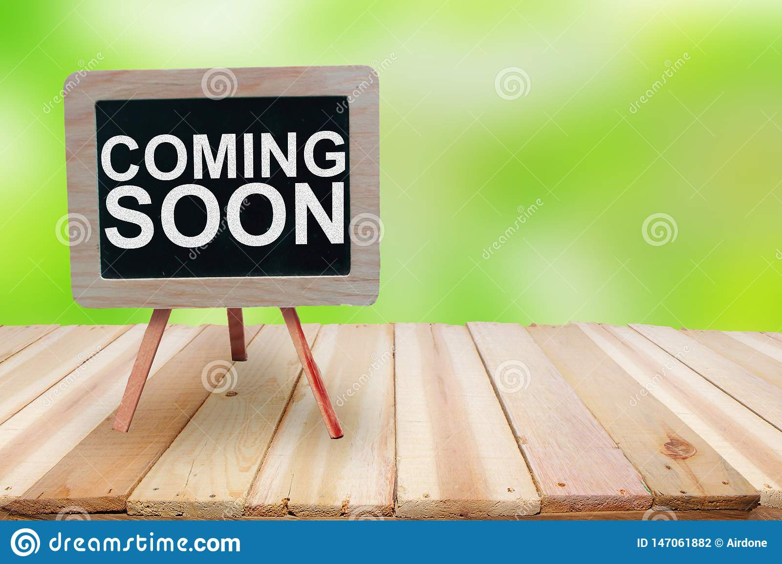 Coming Soon Words Typography Concept Stock Photo Image Of Approaching Marketing 147061882