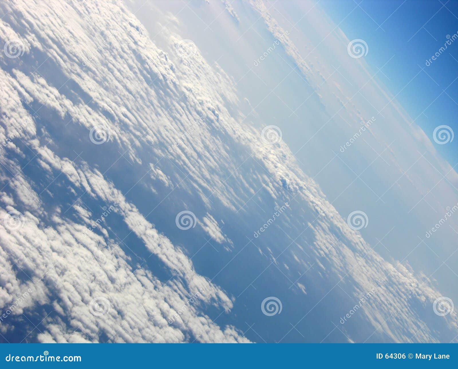 Download Comme l'avion tourne photo stock. Image du blanc, seascape - 64306