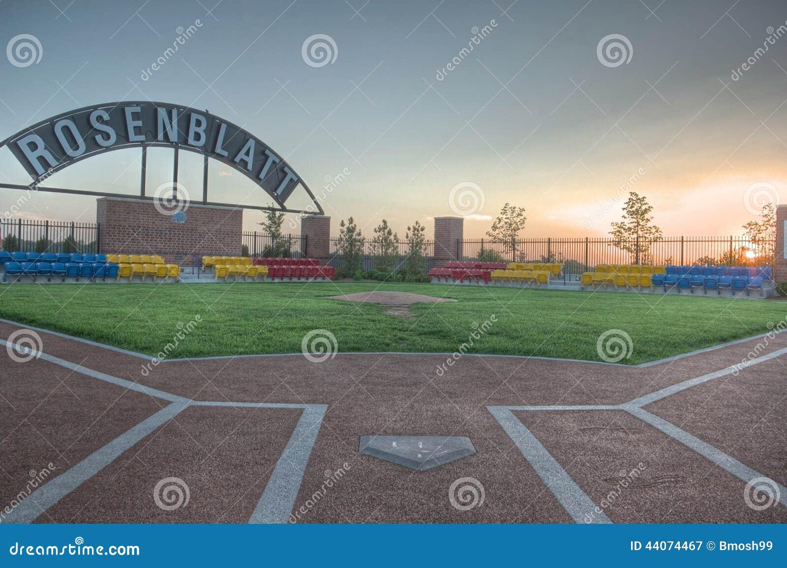 Commemorative Park For Rosenblatt Stadium In Omaha