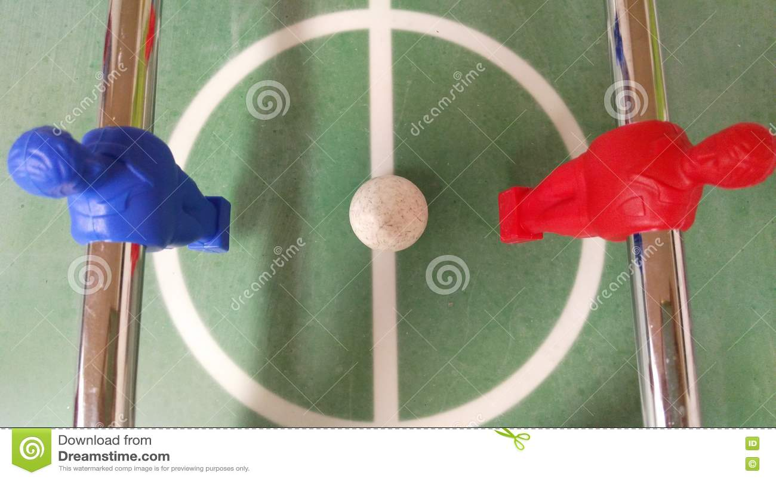 Commencer le football de table de tir