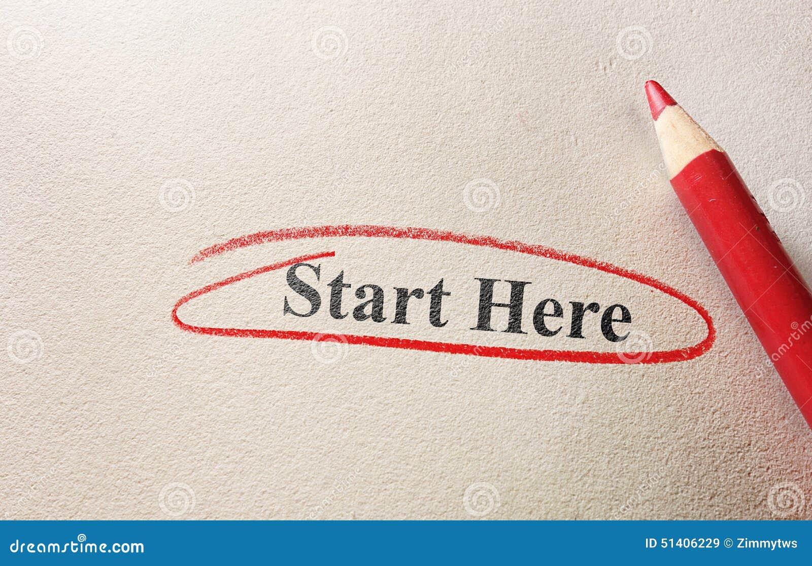 Commencez ici