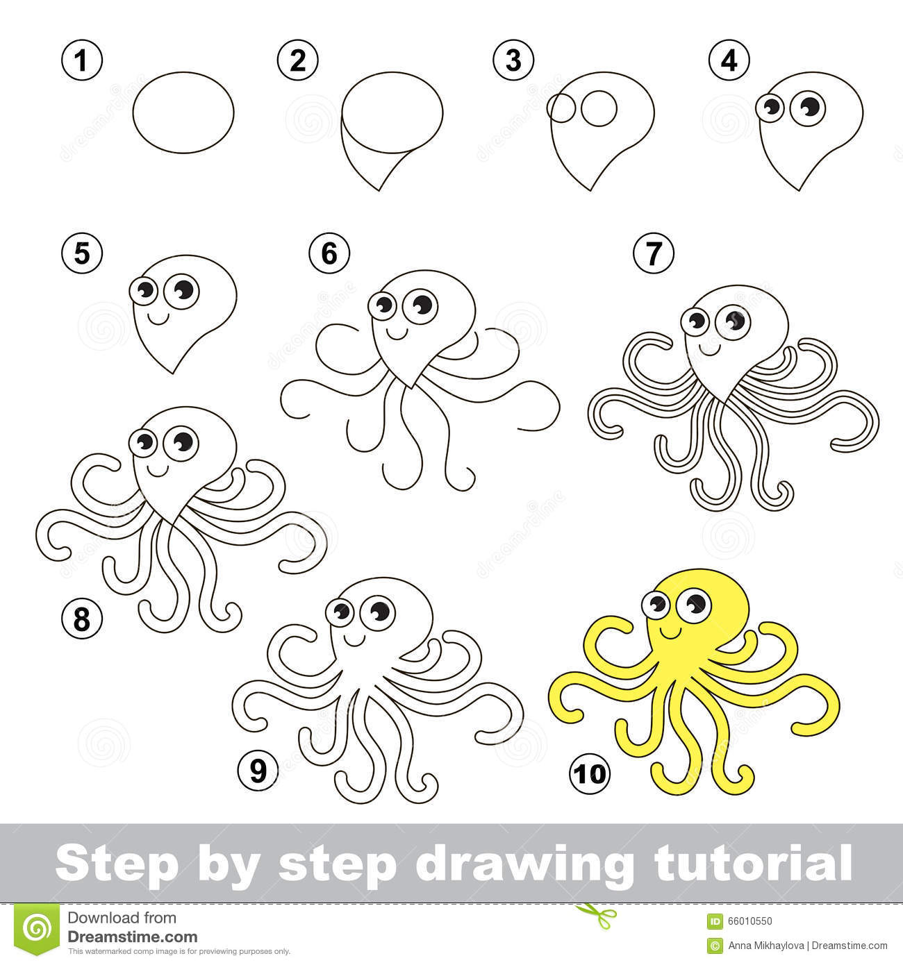 Monkey Drawing For Kids Step By Step