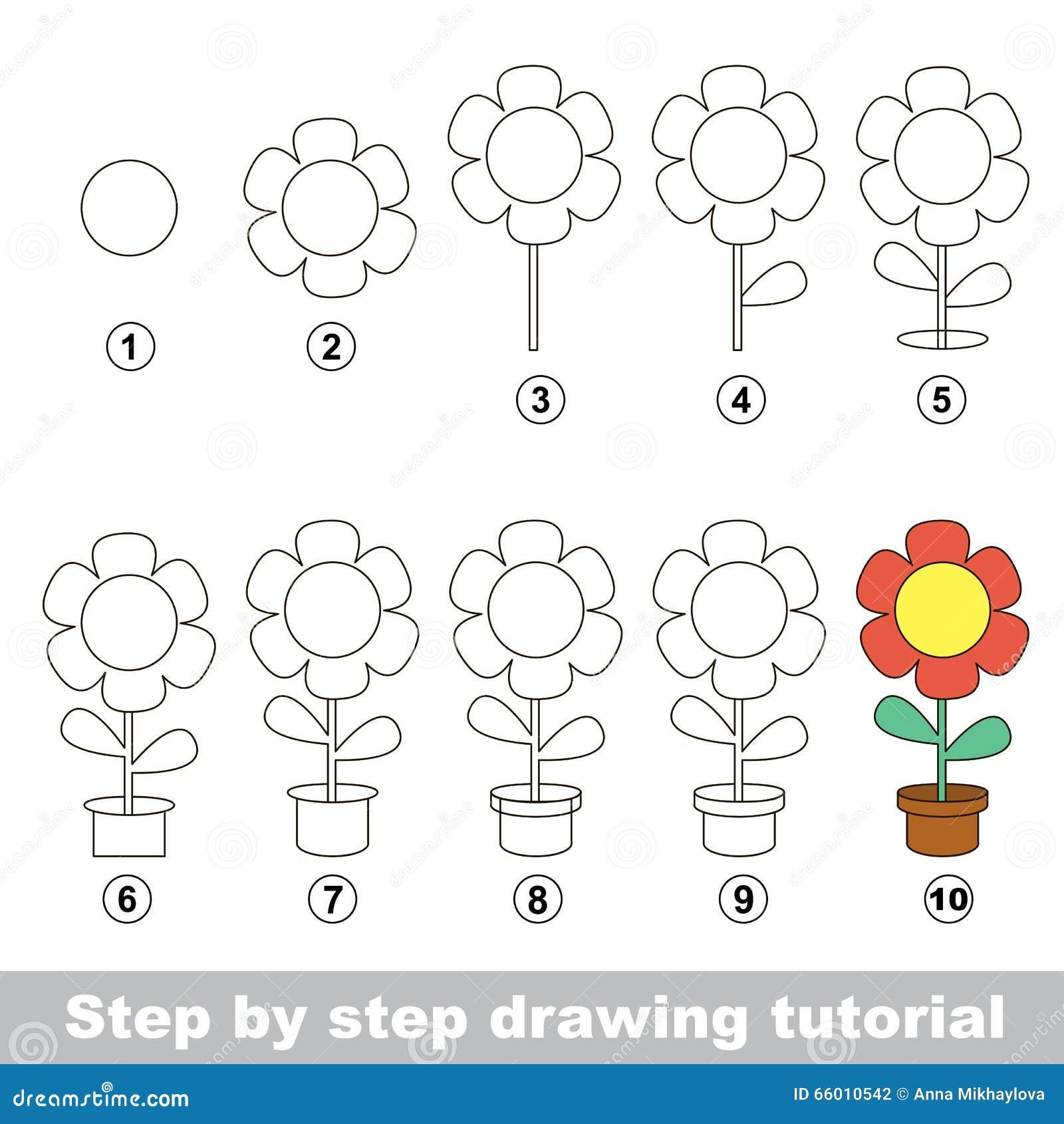 Comment dessiner une fleur fashion designs - Comment dessiner une fleur facilement ...