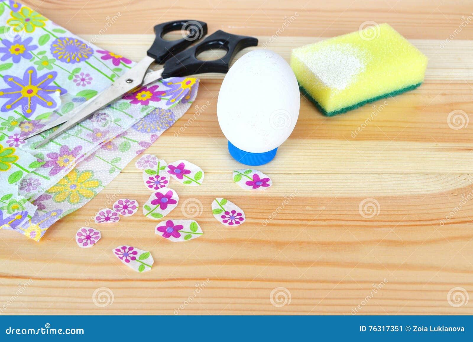 Comment faire l ornement d oeuf de pâques opération Idée de Pâques DIY