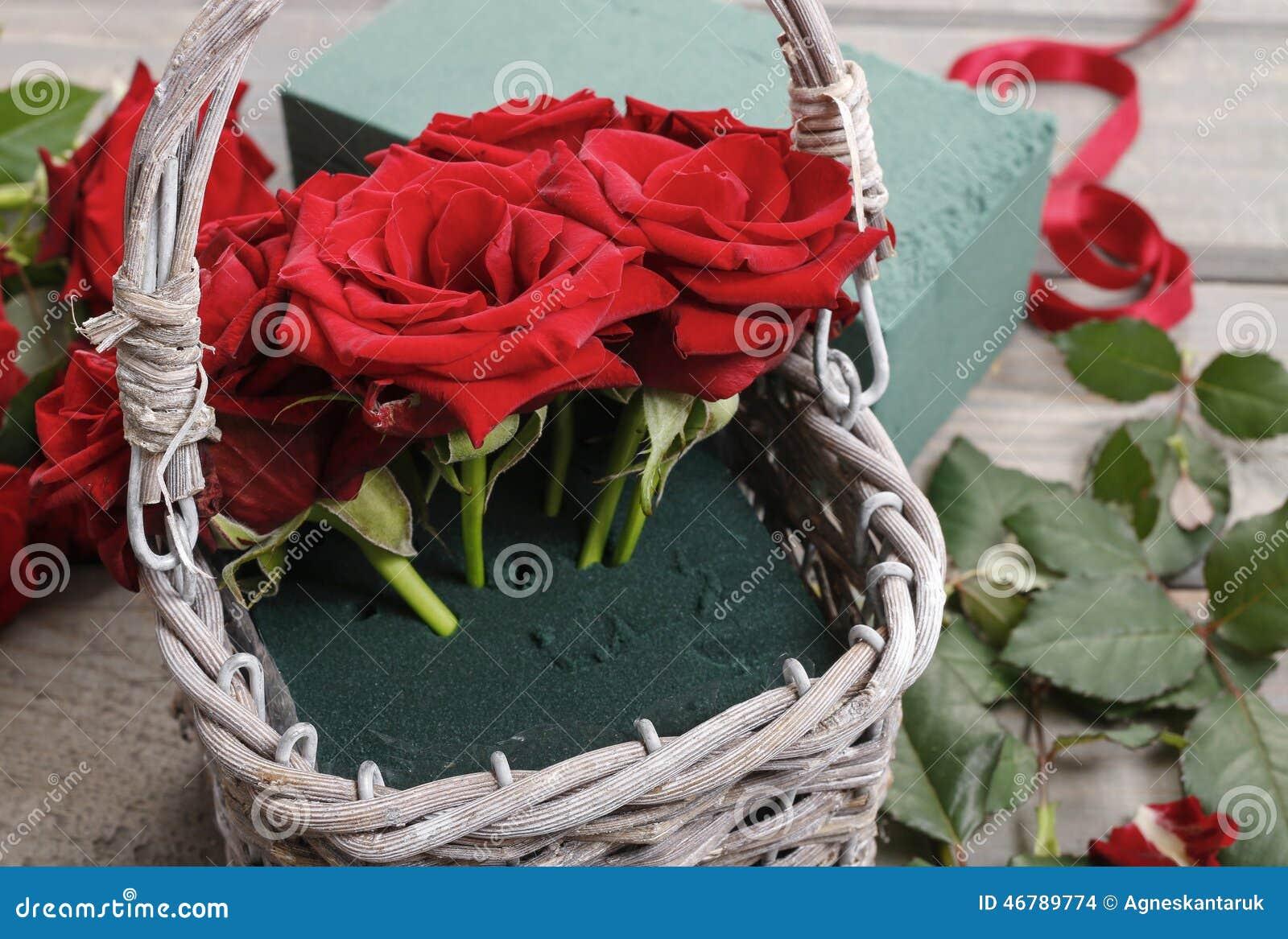 Comment Faire Un Bouquet De Roses comment faire le bouquet des roses dans le cours de panier