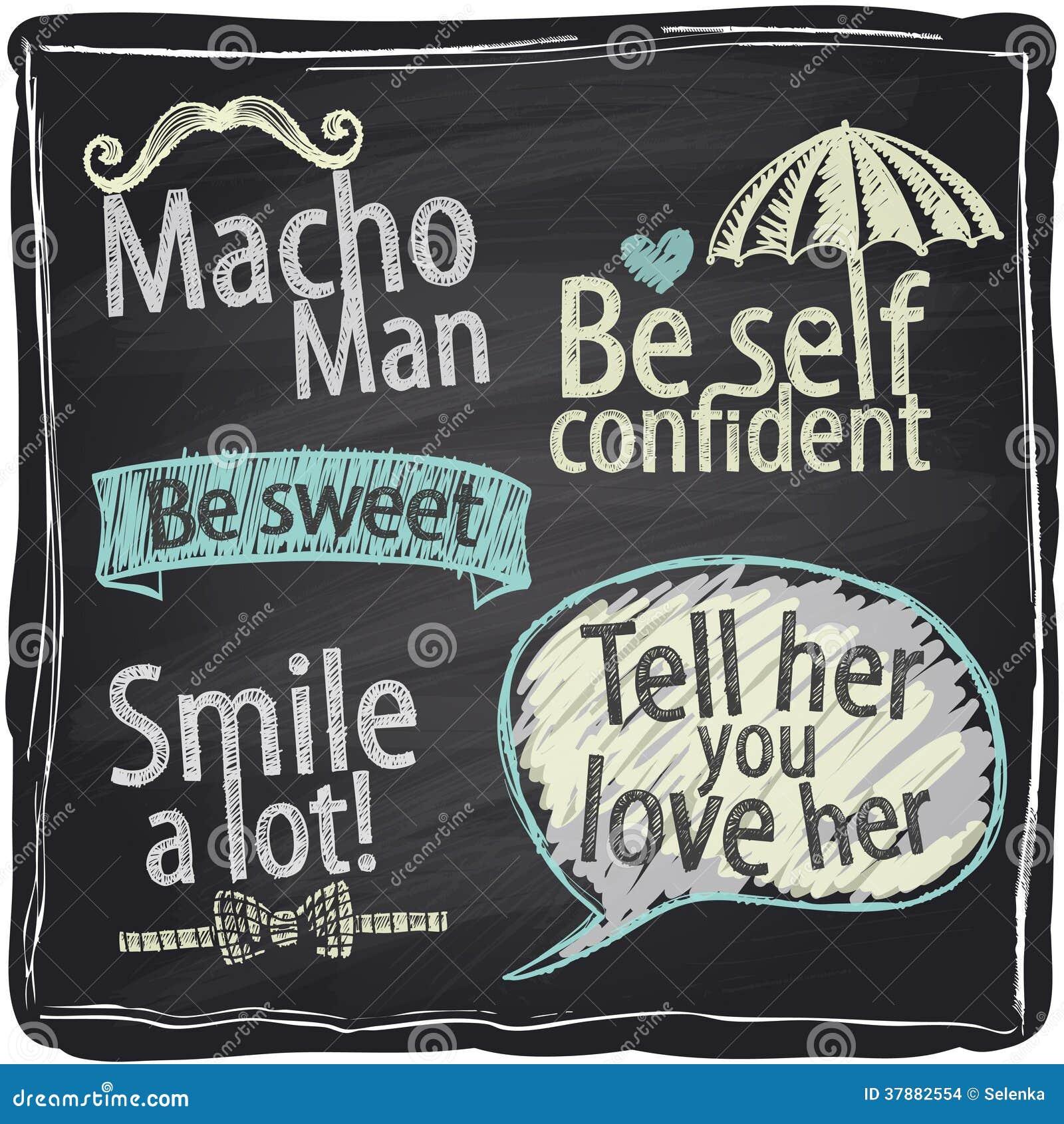 Comment être Un Fond Macho De Tableau D'homme. Images stock - Image: 37882554