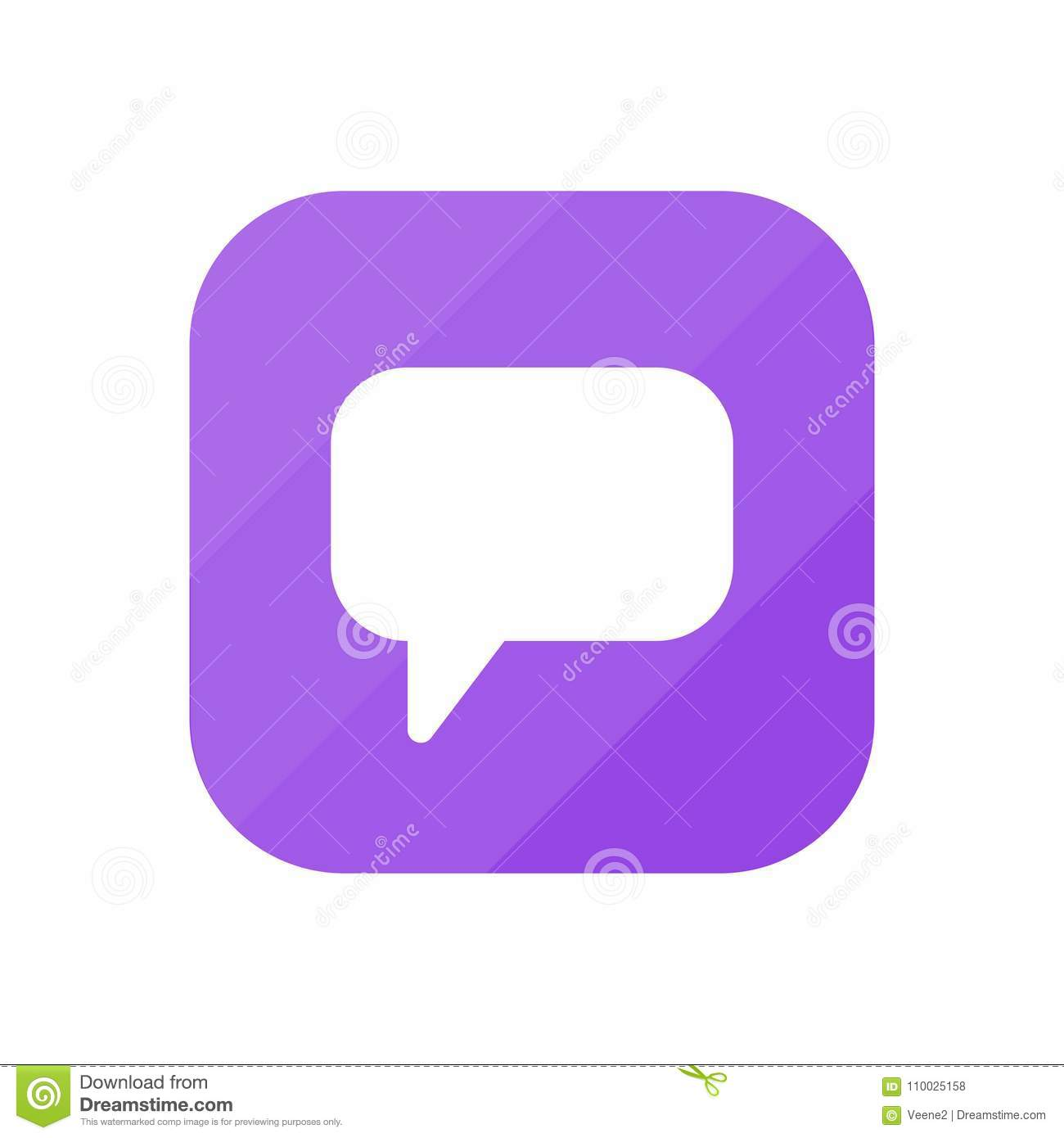 Commentaar - App Pictogram